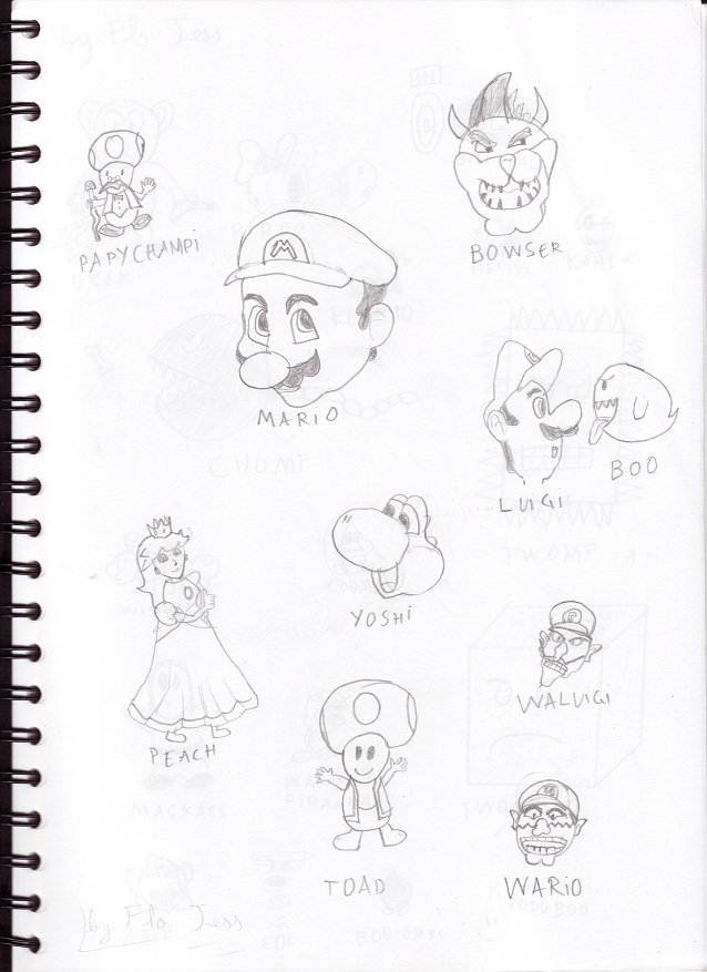 Le Royaume De Mario Fan Dessins